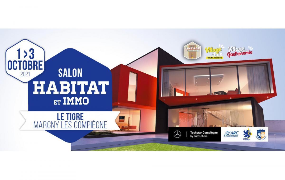 Salon De L'habitat Et De L'immobilier à Margny-lès-compiègne (60280) du 01/10/2021 au 03/10/2021