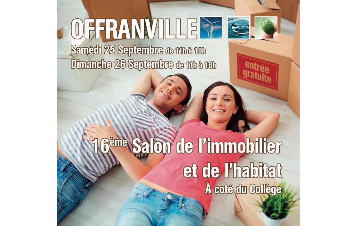 Salon De L'immobilier à Offranville (76550) les 25/09/2021 et 26/09/2021