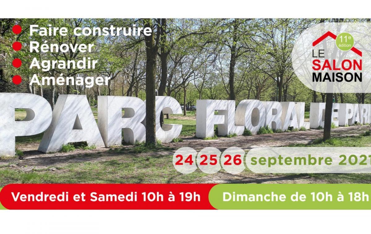 Salon De L'immobilier à Paris (75000) du 24/09/2021 au 26/09/2021