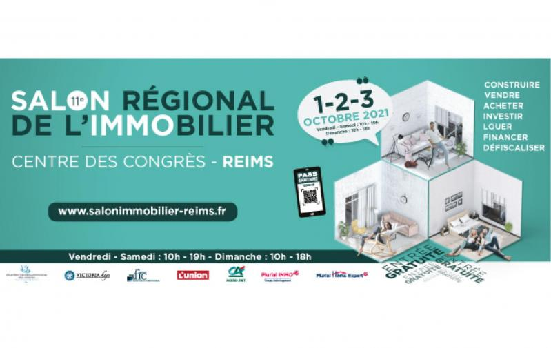 Salon De L'immobilier à Reims (51100) du 01/10/2021 au 03/10/2021
