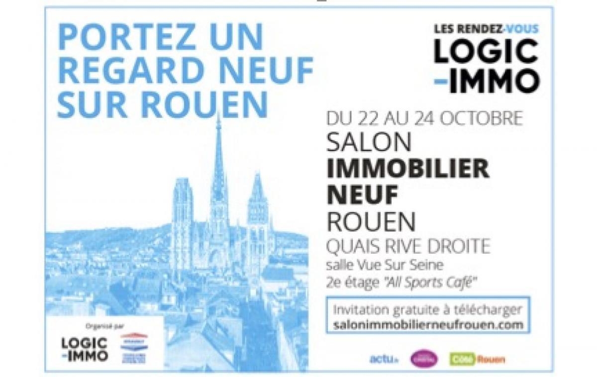 Salon De L'immobilier à Rouen (76000) du 22/10/2021 au 24/10/2021