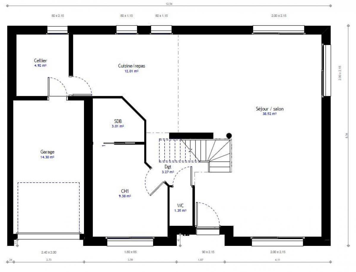 Plan De Maison Maison Familale Faire Construire Sa Maison 2