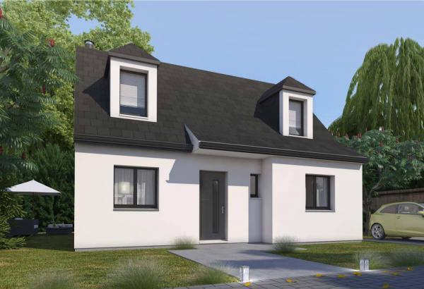 Plan maison 3 chambres Résidence Picarde 05