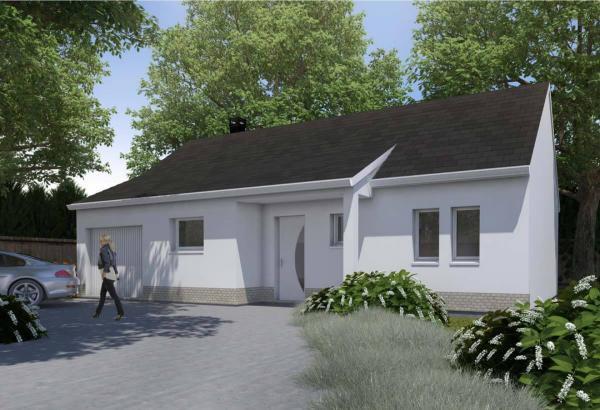 Plan maison 3 chambres Résidence Picarde 09