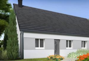 Plan maison 3 chambres HC 104 H