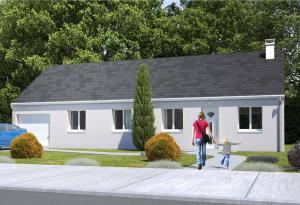 Plan maison 4 chambres HC 105