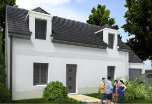 Plan maison 3 chambres HC 106