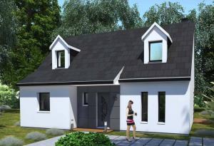 Plan maison 3 chambres HC 20