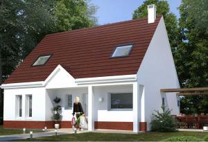 Plan maison 4 chambres HC 32
