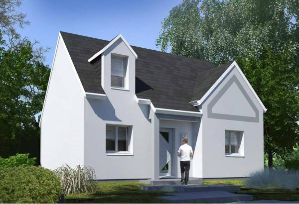Plan maison 3 chambres Résidence Picarde 34
