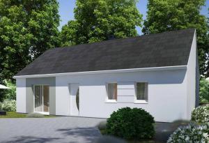 Plan maison 3 chambres HC 37