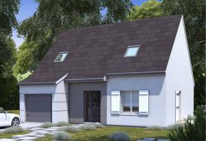 Plan maison 4 chambres Lesmaisons.com 71