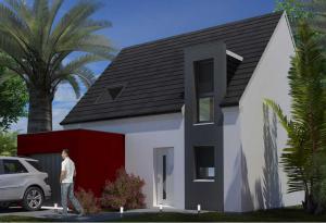 Plan maison 3 chambres HC 40