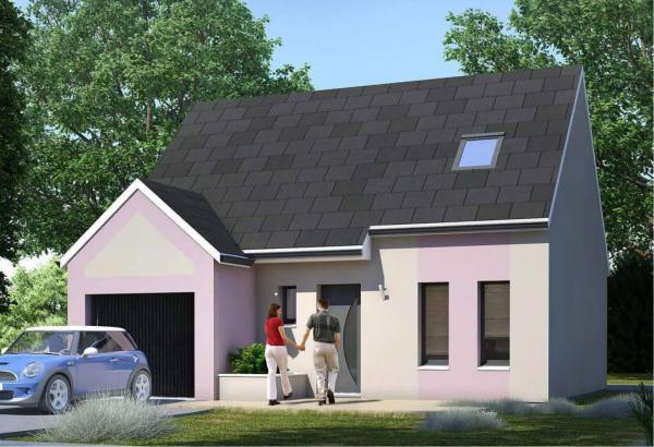 Plan maison 2 chambres Résidence Picarde 41