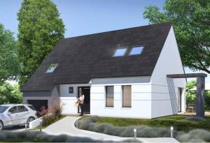 Plan maison 3 chambres HC 43