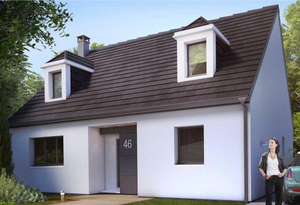 Plan maison 4 chambres Résidence Picarde 46