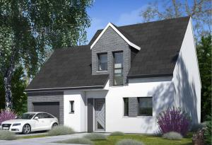 Plan maison 3 chambres HC 50
