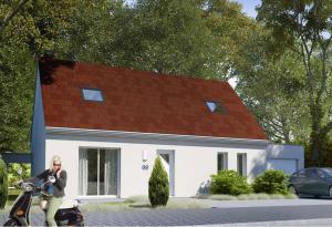 Plan maison 3 chambres HC 69