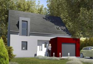 Plan maison 4 chambres HC 70