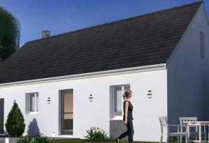Plan maison 3 chambres HC 97
