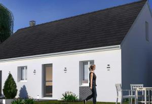 Plan maison 3 chambres HC 97H GI