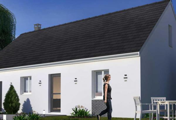 Plan maison 3 chambres Résidence Picarde 97H GI