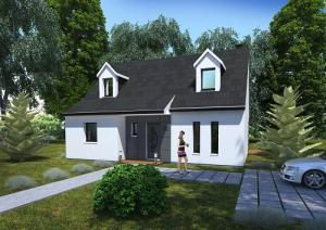 Construction de maison à Votre maison à Auffreville-Brasseuil (78930) pour 259 900 €