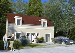 Construction de maison à Bazainville