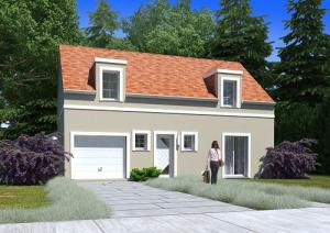 Construction de maison à Votre maison à Beaumont-sur-Oise (95260) pour 299 000 €