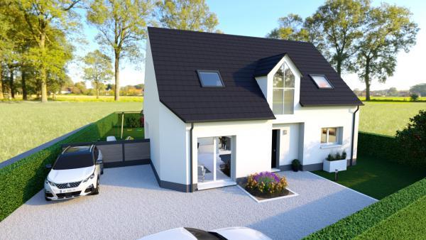 Construction d'une maison Belle-et-Houllefort (62142) 284 000 €