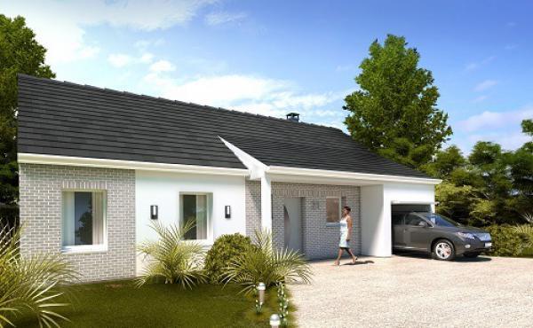 Construction d'une maison Bracquetuit (76850) 180 912 €