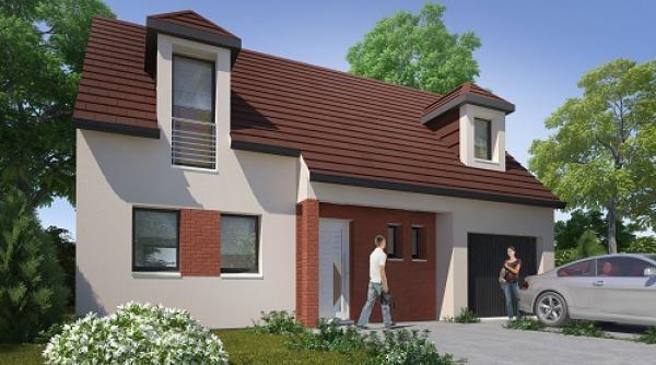 Construction d'une maison Breilly (80470) 186 215 €