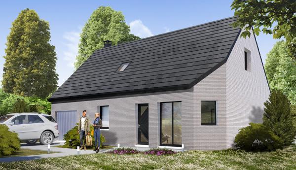 Construction d'une maison Cesny-Bois-Halbout (14220) 189 547 €
