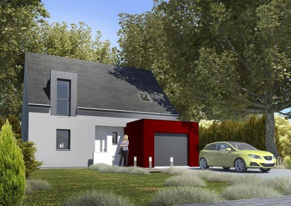 Construction d'une maison Diéval (62460) 195 600 €