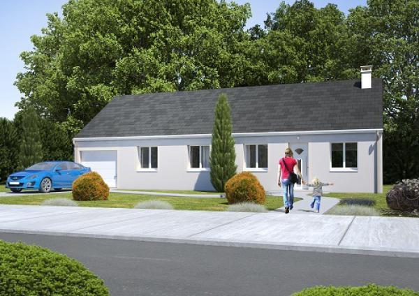 Construction d'une maison La Houssoye (60390) 201 900 €