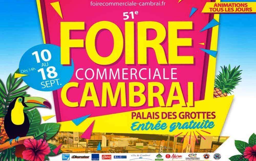 Foire Commerciale à Cambrai du 10/09/2016 au 18/09/2016