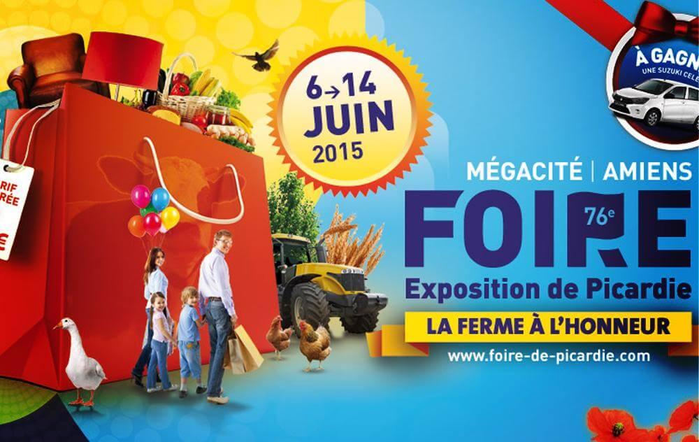 Foire Exposition à Amiens du 06/06/2015 au 14/06/2015