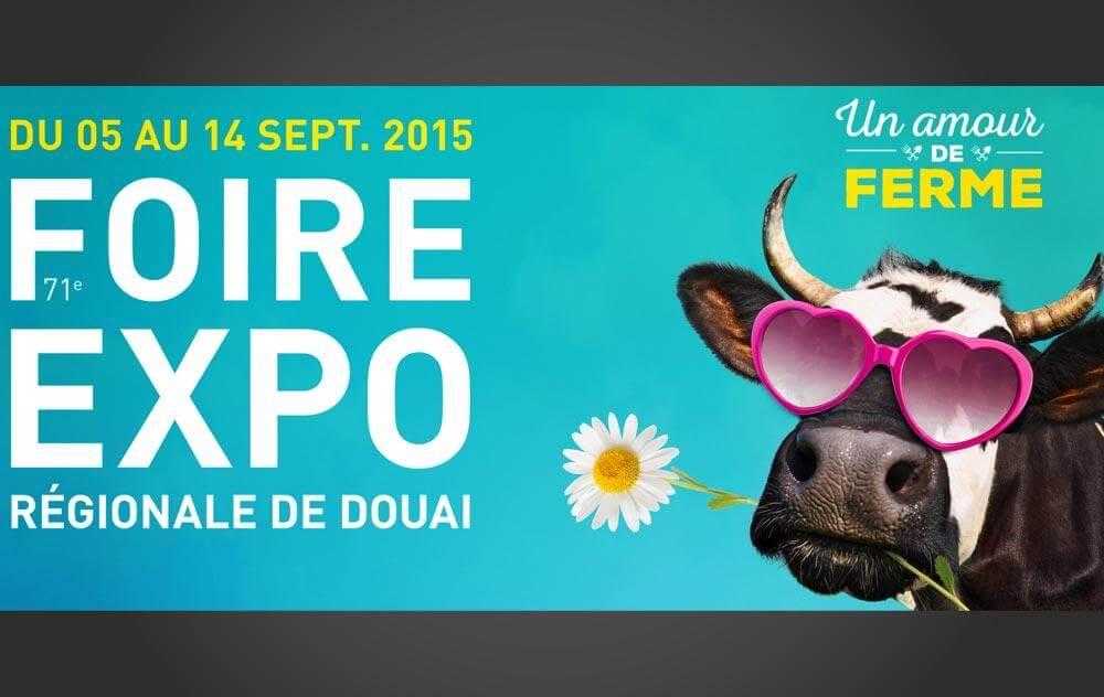Foire Exposition à Douai du 05/09/2015 au 14/09/2015