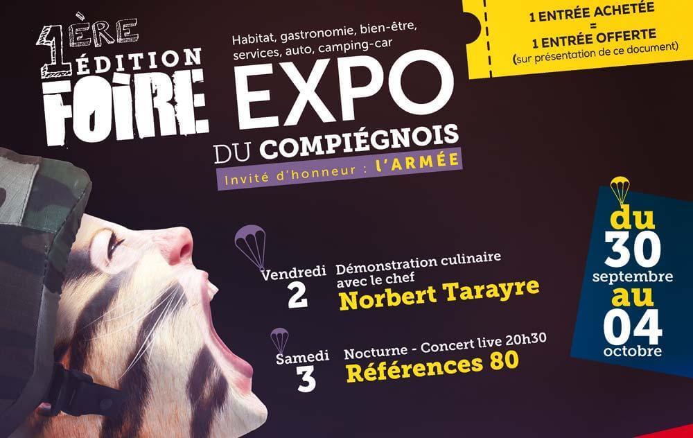Foire Exposition à Margny-les-compiegne du 30/09/2015 au 04/10/2015