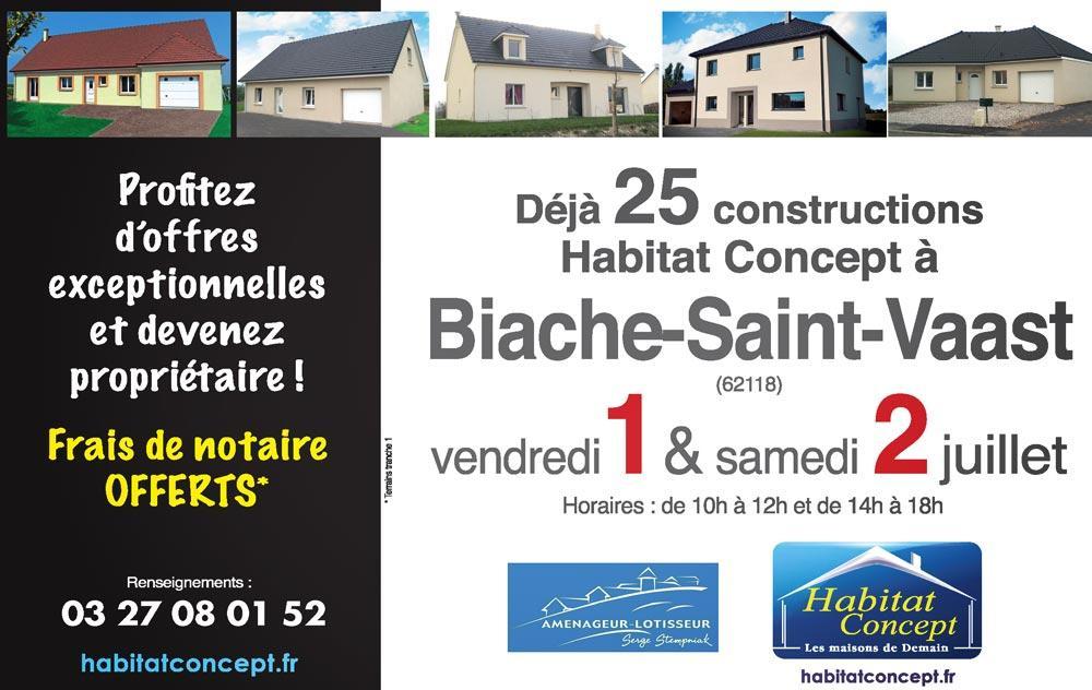 Portes Ouvertes à Biache-saint-vaast les 01/07/2016 et 02/07/2016