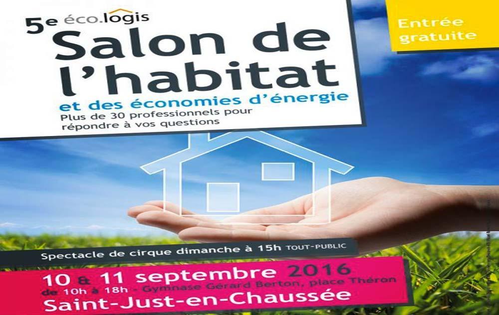 Salon De L'eco-habitat à Saint-just-en-chaussee les 10/09/2016 et 11/09/2016