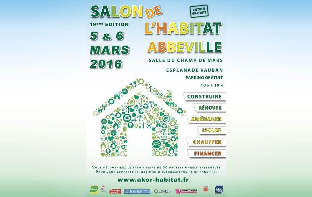 Salon De L'habitat à Abbeville les 05/03/2016 et 06/03/2016