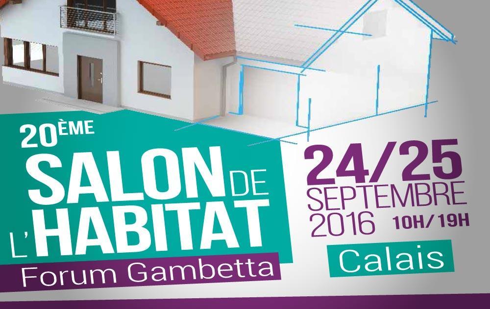 Salon De L'habitat à Calais du 23/09/2016 au 25/09/2016