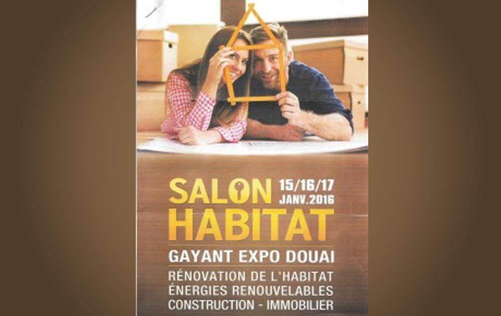 Salon De L'habitat à Douai du 15/01/2016 au 17/01/2016