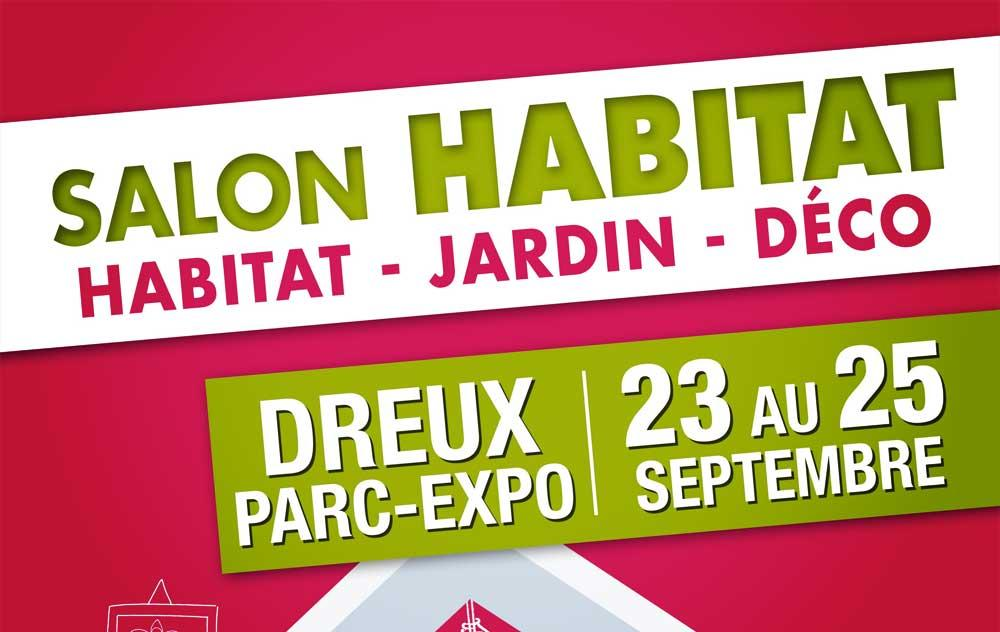 Salon De L'habitat à Dreux du 23/09/2016 au 25/09/2016