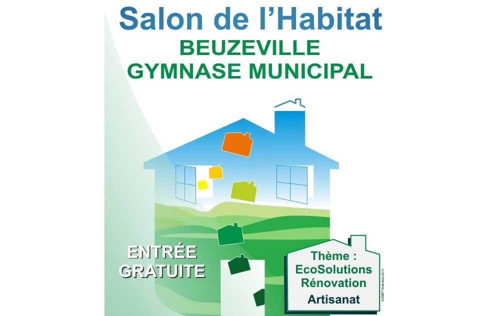 Salon de l 39 habitat ecosolutions beuzeville 16 04 2016 for Salon de l habitat valence