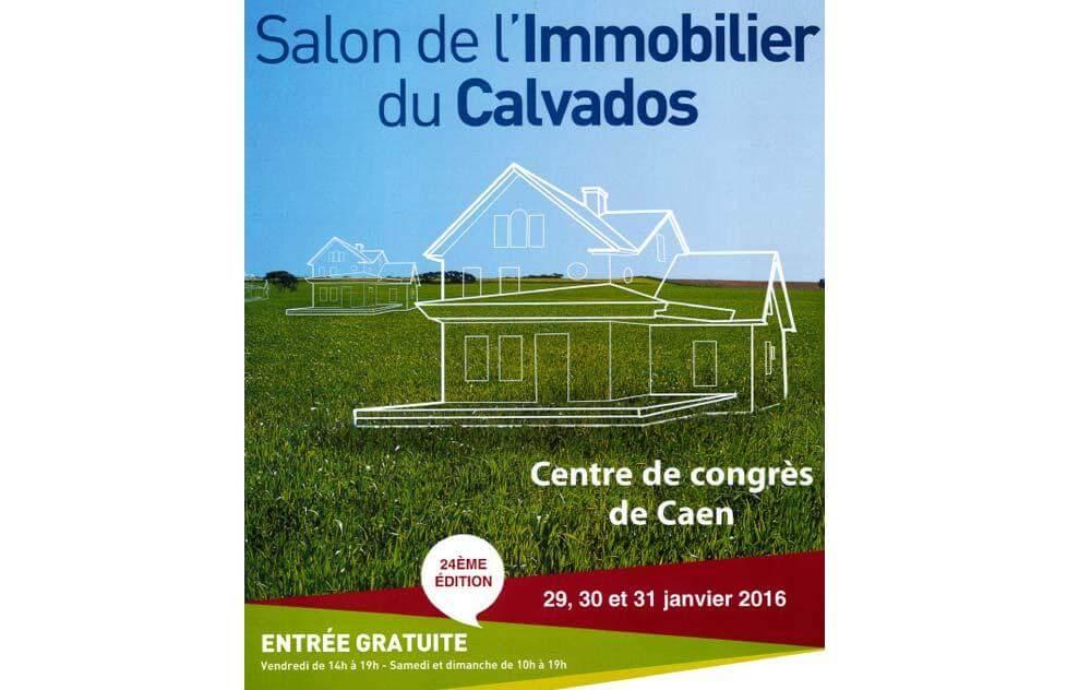 Salon De L'immobilier à Caen du 29/01/2016 au 31/01/2016