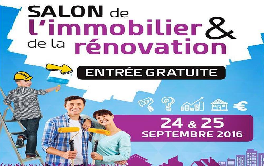Salon De L'immobilier à Evreux les 24/09/2016 et 25/09/2016