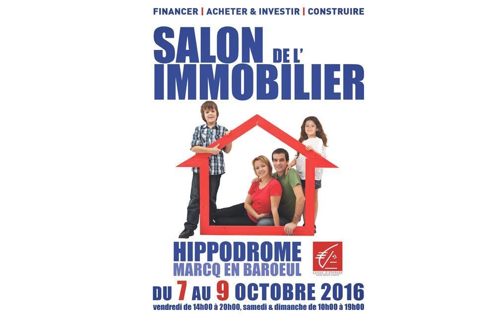 Salon De L'immobilier à Marcq-en-baroeul du 07/10/2016 au 09/10/2016