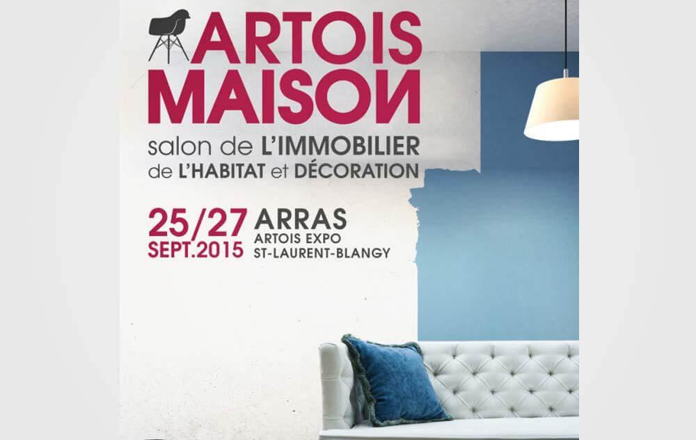 Salon De L'immobilier De L'habitat Et De La Decoration à Arras du 25/09/2015 au 27/09/2015
